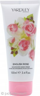 Yardley English Rose Nourishing Crema Mani 100ml