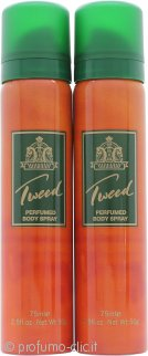 Lentheric Tweed Body Spray 2 x 75ml