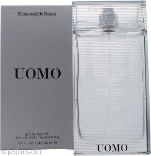 Ermenegildo Zegna Uomo Eau De Toilette 100ml Spray