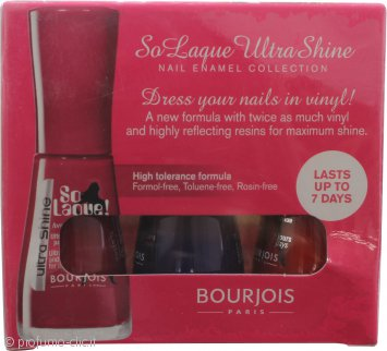 Bourjois So Laque Ultra Shine Confezione Regalo 3 x 10ml - Unghie Trendy