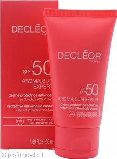 Decleor Aroma Sun Expert Protective Anti-Wrinkle Cream 50ml SPF50