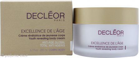 Decleor Excellence de l'Age Youth Revealing Crema Corpo 200ml