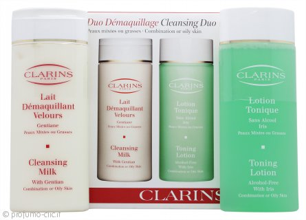 Clarins Cleansing and Toning Duo Pack - Pelle Mista/Grassa 2 x 200ml