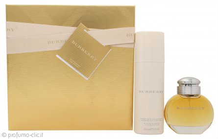 Burberry Burberry Confezione Regalo 50ml EDP Spray + 150ml Deodorante Spray