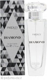Yardley Diamond Eau de Toilette 50ml Spray