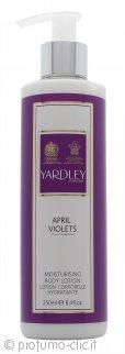 Yardley April Violets Lozione per il Corpo 250ml
