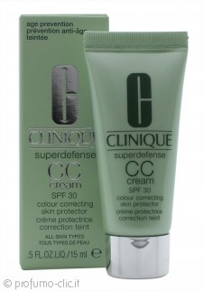 Clinique Superdefense CC Cream 15ml SPF30 - Chiara/Media