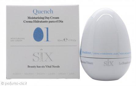 Six Cosmetics Désaltérer 01 Moisturizing Crema Giorno 50ml