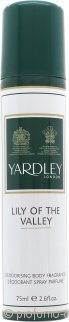 Yardley Lily of the Valley Spray Corpo 75ml