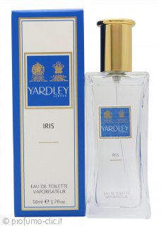 Yardley Iris Eau de Toilette 50ml Spray