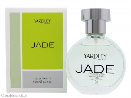 Yardley Jade Eau de Toilette 50ml Spray