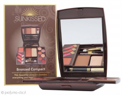 SUNkissed Cosmetics Make-Up Compact 2 Vari Prodotti