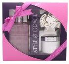 Style & Grace Luxury Retreat Confezione Regalo - 500ml Crema Da Bagno + 170ml Burro per il Corpo + Spugna a Fiore (2015)