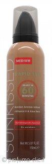 Sunkissed Rapid Tan Mousse 150ml Medium