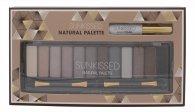 Sunkissed Natural Palette 12 x Ombretti + Primer Occhi + 2 x Applicatori a Doppia Uscita