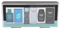 Gents Miniatures Confezione Regalo 5ml EDT Andy Warhol POP Pour Homme + 5ml EDT Laura Biagiotti Tempore Uomo + 5ml EDT Guy Laroche Drakkar Noir