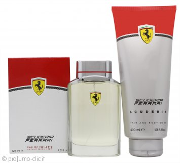 Ferrari Scuderia Ferrari Confezione Regalo 125ml EDT + 400ml Gel Doccia