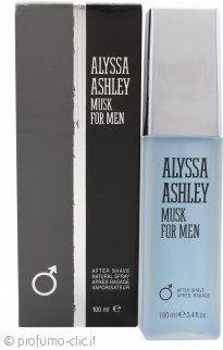 Alyssa Ashley Musk for Men Dopobarba 100ml