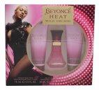 Beyonce Heat Wild Orchid Confezione Regalo 30ml EDP + 75ml Lozione Corpo + 75ml Gel Doccia