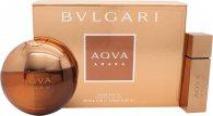 Bvlgari Aqva Amara Confezione Regalo 100ml EDT + 15ml EDT