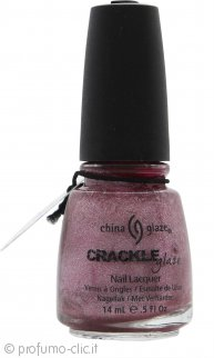 China Glaze Crackle Glaze Smalto per Unghie 14ml - Haute Metal 1046