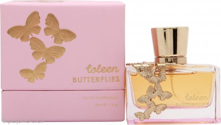 Coleen Rooney Butterflies Eau de Toilette 50ml Spray