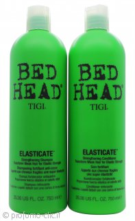 Tigi Duo Pack Bed Head Elasticate 750ml Shampoo + 750ml Balsamo