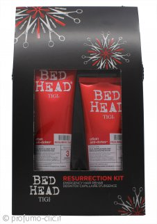 Tigi Duo Pack Bed Head Urban Antidotes Resurrection 250ml Shampoo + 200ml Balsamo