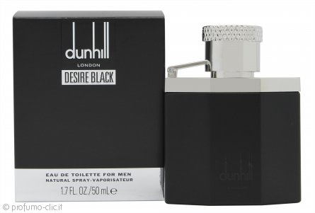 Dunhill Desire Black Eau de Toilette 50ml Spray