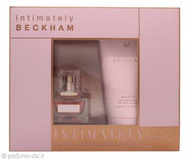 David & Victoria Beckham Intimately Confezione Regalo 30ml EDT + 150ml Lozione per il Corpo