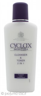 Cyclax Moistura Cleanser & Toner 2 in 1 200ml