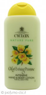 Cyclax Nature Pure Oil Of Evening Primrose Lozione Mani & Corpo 300ml