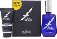 Parfums Bleu Limited Blue Stratos Confezione Regalo 50ml EDT + 25ml Gel da Barba