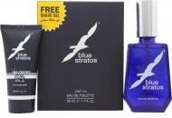 Parfums Bleu Limited Blue Stratos Confezione Regalo 50ml EDT + 25ml Gel da Barba