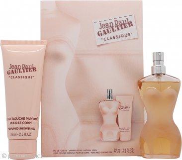 Jean Paul Gaultier Classique Confezione Regalo 50ml EDT + 75ml Gel Doccia