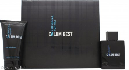 Calum Best Original for Him Confezione Regalo 100ml EDT + 150ml Gel Doccia