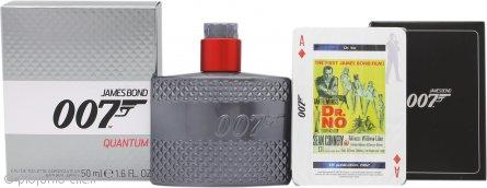 James Bond 007 Quantum Confezione Regalo 50ml EDT + Carte da Gioco