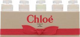 Chloe Miniatures Confezione Regalo 2 x 5ml Chloe EDP + 2 x 5ml Roses de Chloe EDT + 5ml L'Eau de Chloe EDT