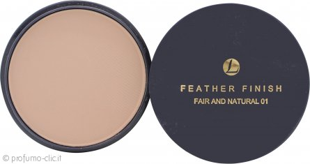 Lentheric Feather Finish Polvere Compatta Ricarica 20g - Fair & Natural 01