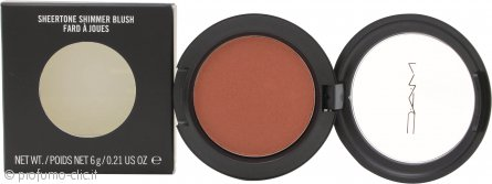 MAC Sheertone Shimmer Powder Blush 6g - Sweet As Cocoa
