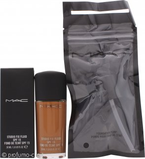 MAC Studio Fix Fluid Fondotinta SPF15 30ml - NC50 + Pompetta