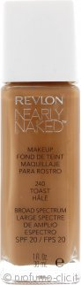 Revlon Nearly Naked Fondotinta 30ml Toast - SPF20