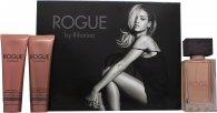 Rihanna Rogue Confezione Regalo 125ml EDP + 90ml Lozione Corpo + 90ml Gel Doccia