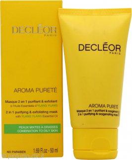 Decleor Aroma Purete 2 in 1 Purifying & Oxygenating Maschera 50ml - Pelle Mista/Grassa