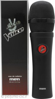 The Voice Men Eau de Toilette 100ml Spray