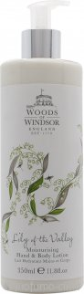 Woods of Windsor Lily of the Valley Lozione Mani & Corpo 350ml
