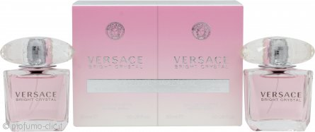 Versace Bright Crystal Confezione Regalo 2 x 30ml EDT Spray