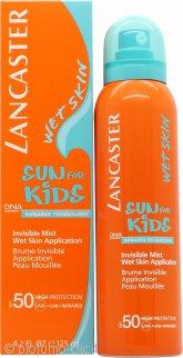 Lancaster Sun per Bambini Invisible Mist Applicazione Pelle Bagnata 125ml SPF50