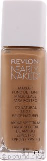 Revlon Nearly Naked Fondotinta SPF20 30ml - Natural Beige