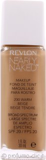 Revlon Nearly Naked Fondotinta SPF20 30ml - Warm Beige